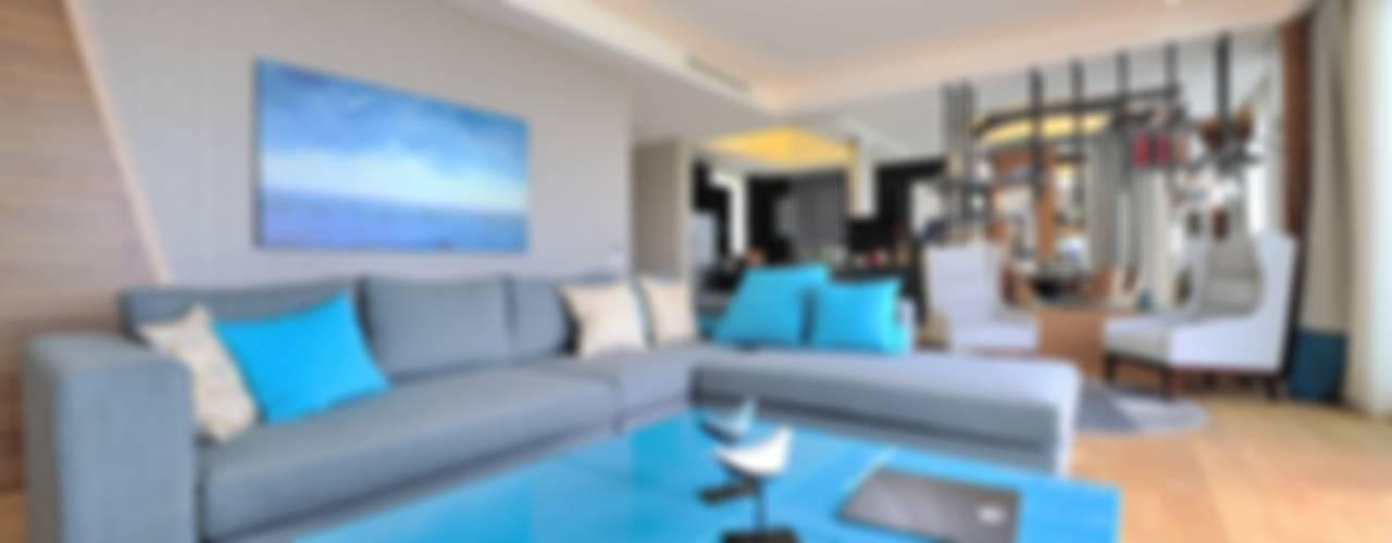 Living room by Voltaj Tasarım