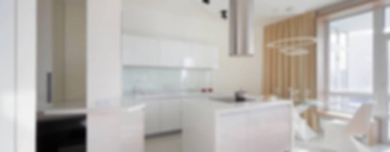Квартира по ул. Февральской Революции: Кухни в . Автор – Галина Глебова, Минимализм