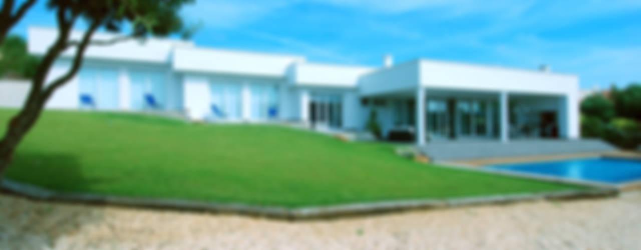 Vivienda unifamiliar en Binibeca Casas de estilo moderno de FG ARQUITECTES Moderno