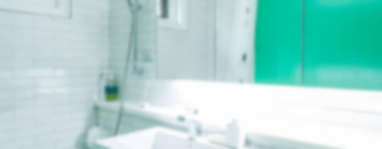 The Diagonal Line _평창동 빌라: 지오아키텍처의  욕실