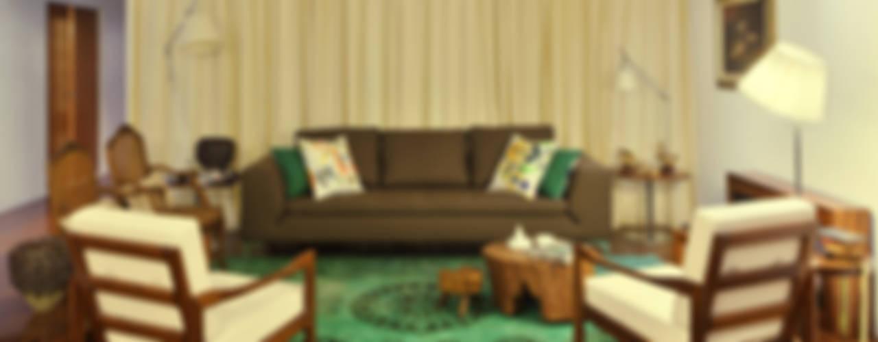 colonial Living room by Tiago Patricio Rodrigues, Arquitectura e Interiores