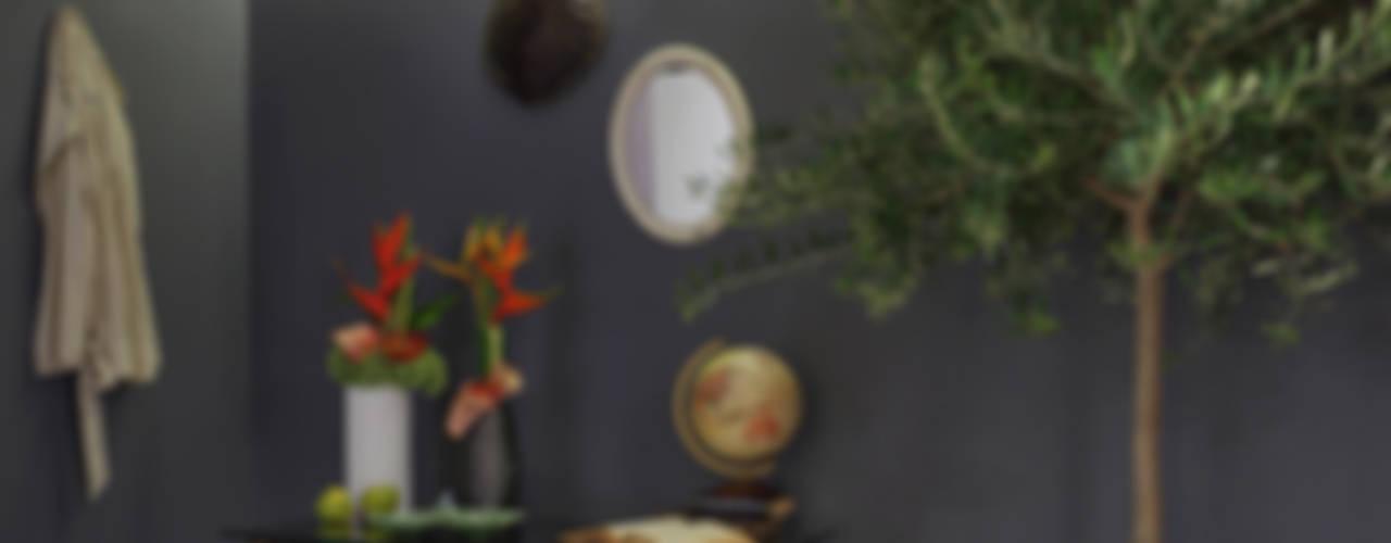 コロニアルスタイルの 玄関&廊下&階段 の Tiago Patricio Rodrigues, Arquitectura e Interiores コロニアル