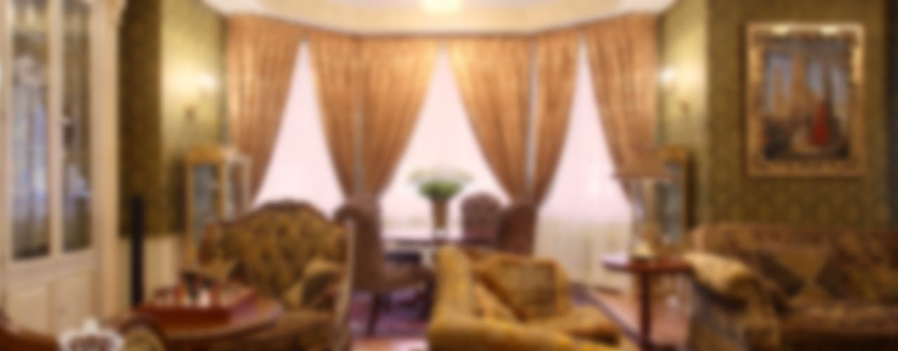 Salas de estilo clásico de KASHUBA DESIGN Clásico
