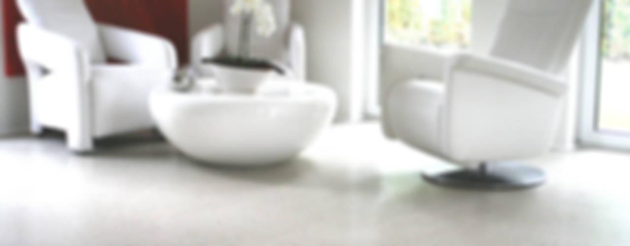 Designestrich Moderne Wände & Böden von eptbaugmbh Modern