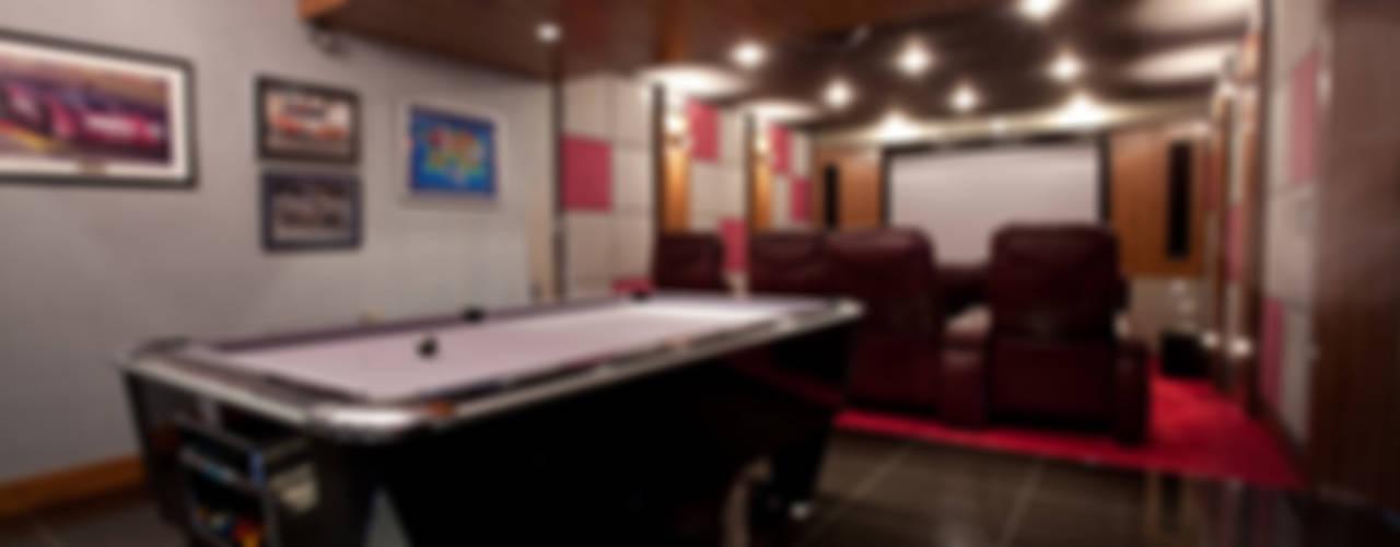 The Cliff - Jersey Modern media room by Nethaus Ltd Modern