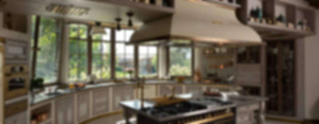 Klasyczna kuchnia od SBM studio Klasyczny