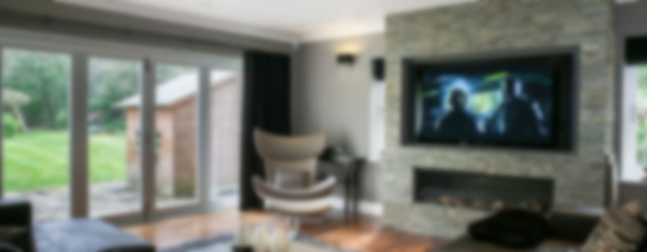 Hata Smart Home Nowoczesny salon od Finite Solutions Nowoczesny
