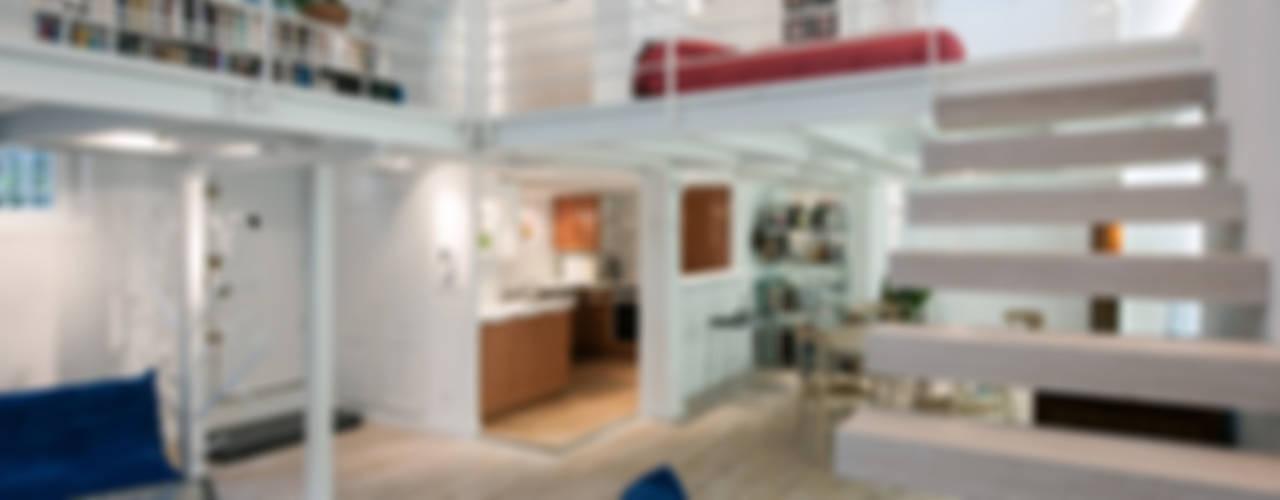 Salas de estar modernas por Fables de murs Moderno