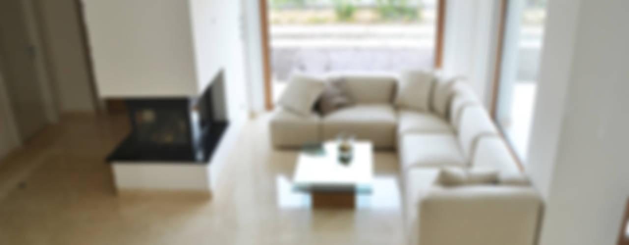 Lucia D'Amato Architect Modern Living Room