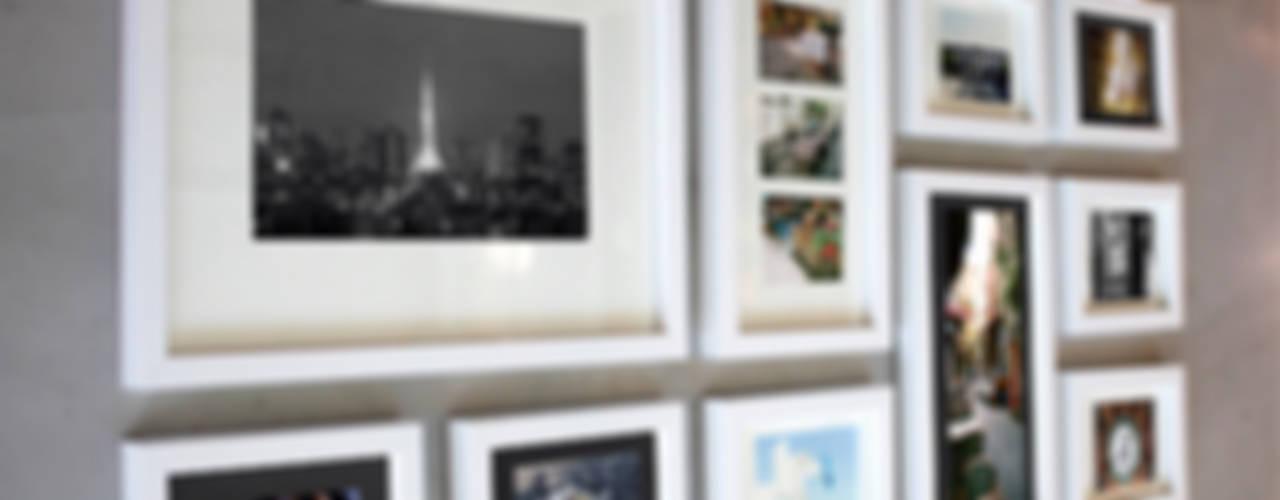 갤러리처럼 멋진 포토월: A.MONO Co,.LTD.의 현대 ,모던