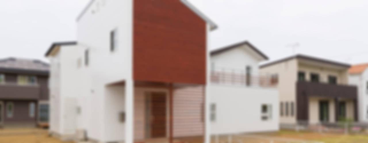 現代房屋設計點子、靈感 & 圖片 根據 吉田裕一建築設計事務所 現代風