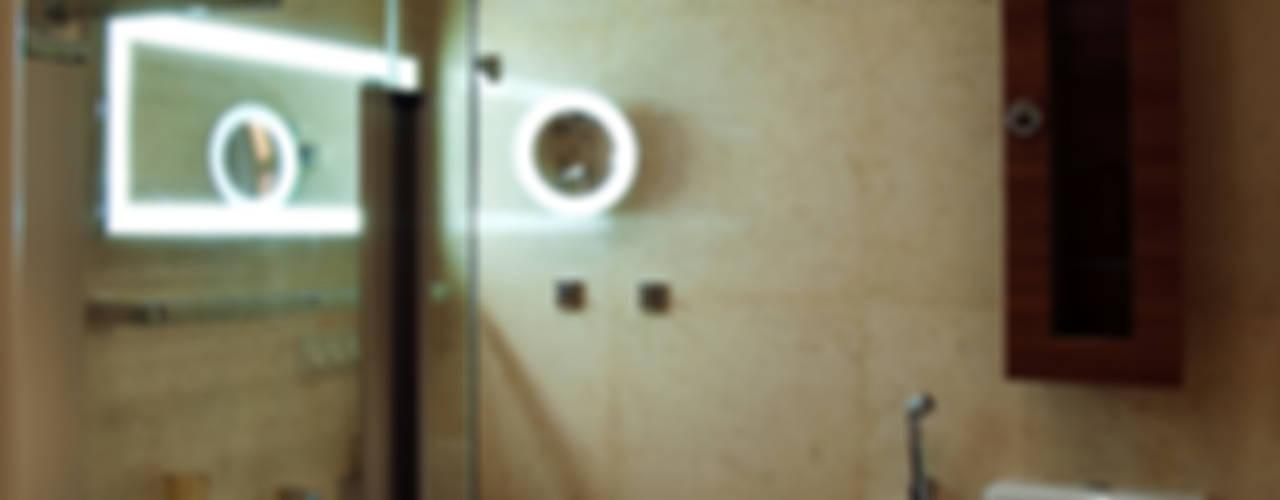 Частная квартира  на Крестовском острове. Санкт-Петербург.: Ванные комнаты в . Автор – KRAUKLIT VALERII