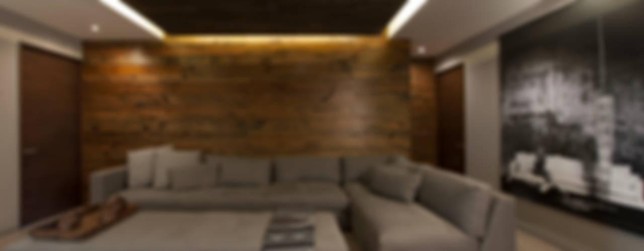 Departamento CM:  de estilo  por kababie arquitectos