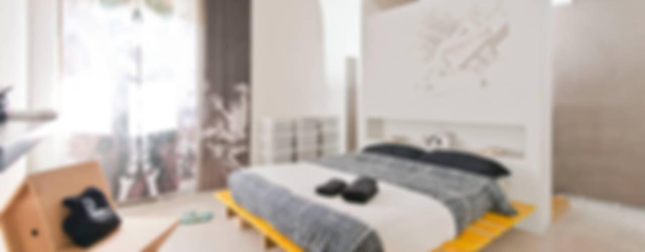 Bed and Breakfast | Home gallery, Roma Camera da letto minimalista di Spaghetticreative Minimalista
