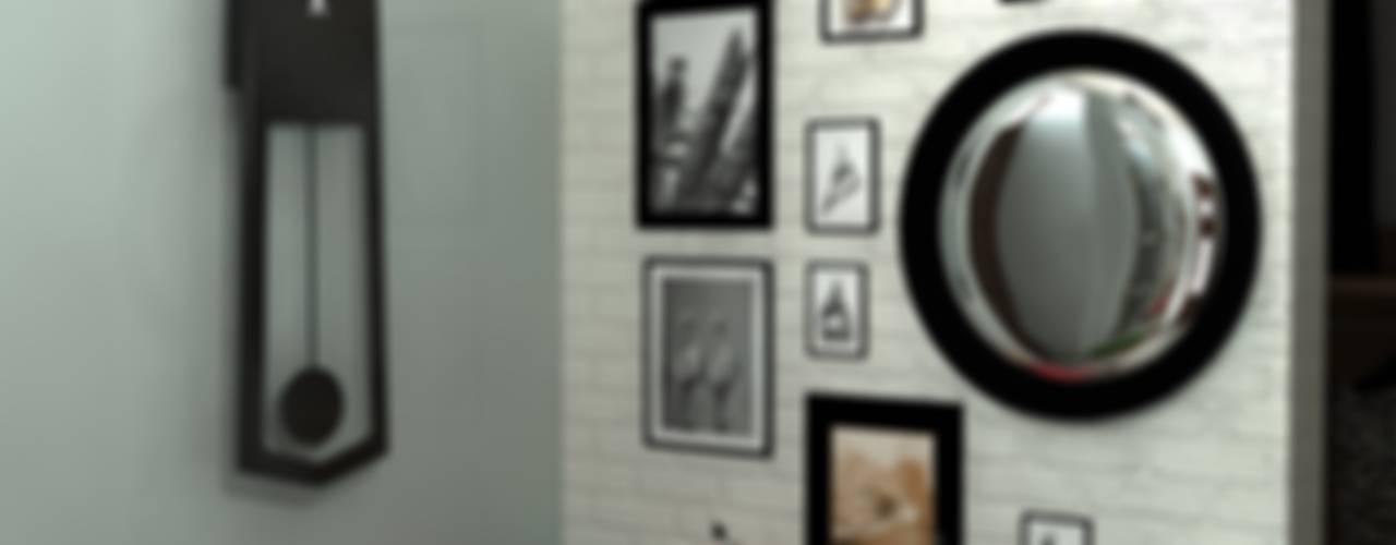 Коридор, прихожая и лестница в стиле лофт от homify Лофт