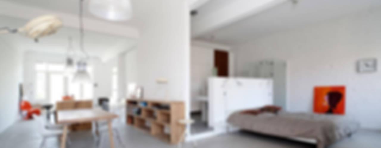 Industrial style bedroom by Tim Diekhans Architektur Industrial