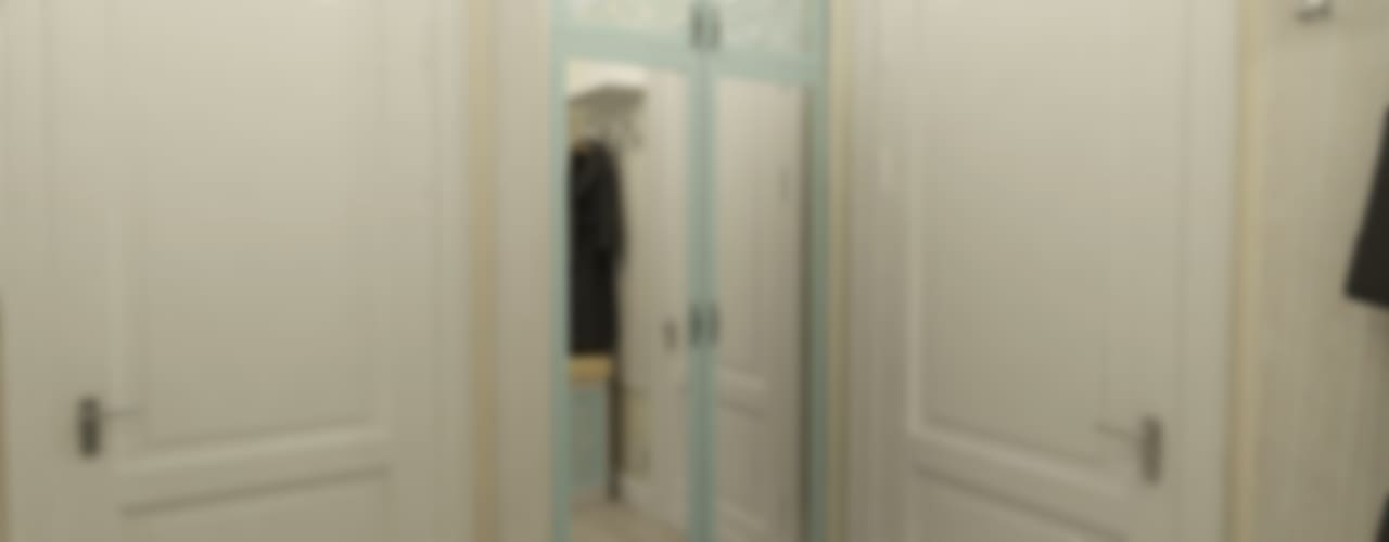 Бирюза и кружева: Коридор и прихожая в . Автор – Алёна Демшинова