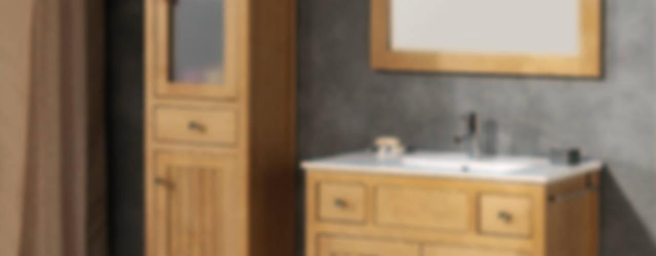 Muebles de baño rústicos de Bañoweb Rústico