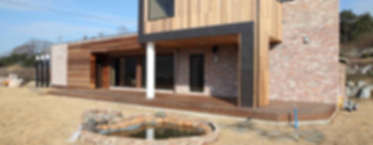 강변조망에 최적화된 디자인, 양평 회현리 주택 모던스타일 주택 by 주택설계전문 디자인그룹 홈스타일토토 모던