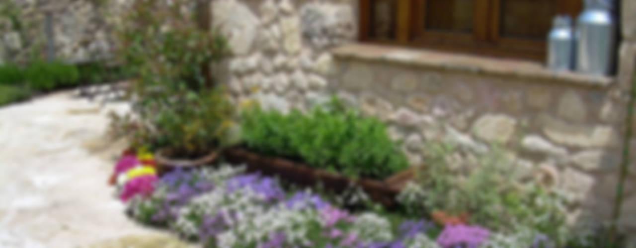 Jardines de estilo rústico de contacto36 Rústico