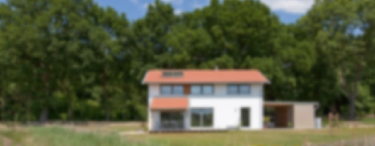 Einfamilienhaus D, Wasbüttel bei Gifhorn Moderner Garten von gondesen architekt Modern