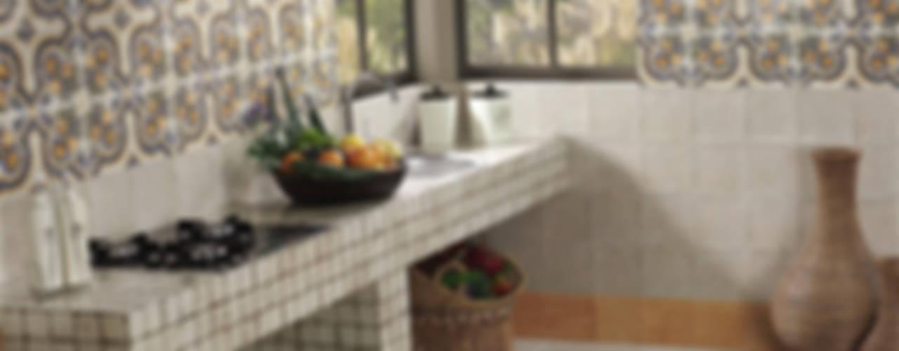 Cucina in stile rustico di INTERAZULEJO Rustico