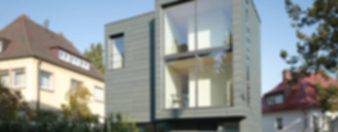 Haus K2 Minimalistische Häuser von Bottega + Ehrhardt Architekten GmbH Minimalistisch