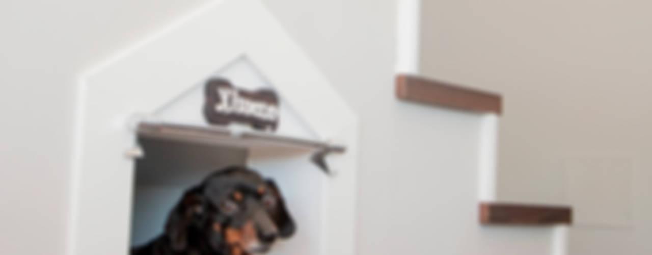 Pasillos, vestíbulos y escaleras de estilo moderno de Canexel Moderno