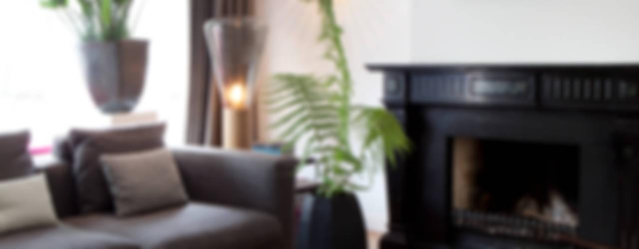 Projekty,  Salon zaprojektowane przez Binnenvorm,