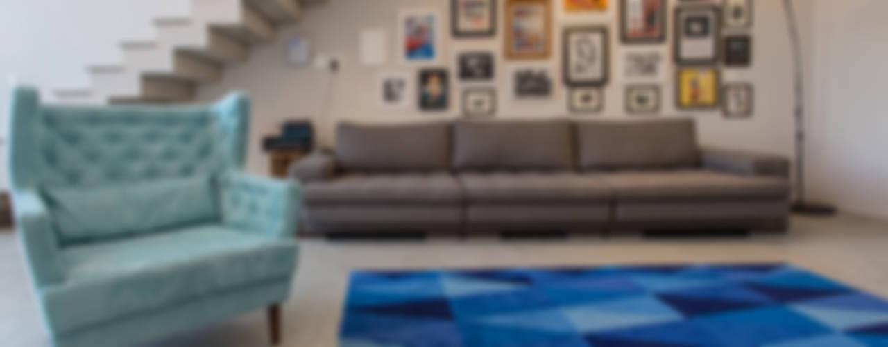 Casado Chef Salas de estar minimalistas por Barbara Dundes | ARQ + DESIGN Minimalista