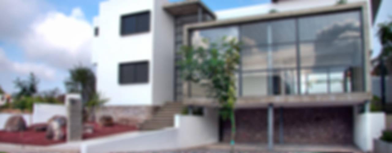 Casa RDM45: Casas de estilo  por VG+VM Arquitectos, Moderno