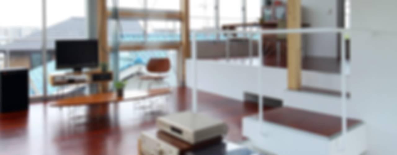 五月丘の家 - House of Satukigaoka: 林泰介建築研究所が手掛けた和室です。