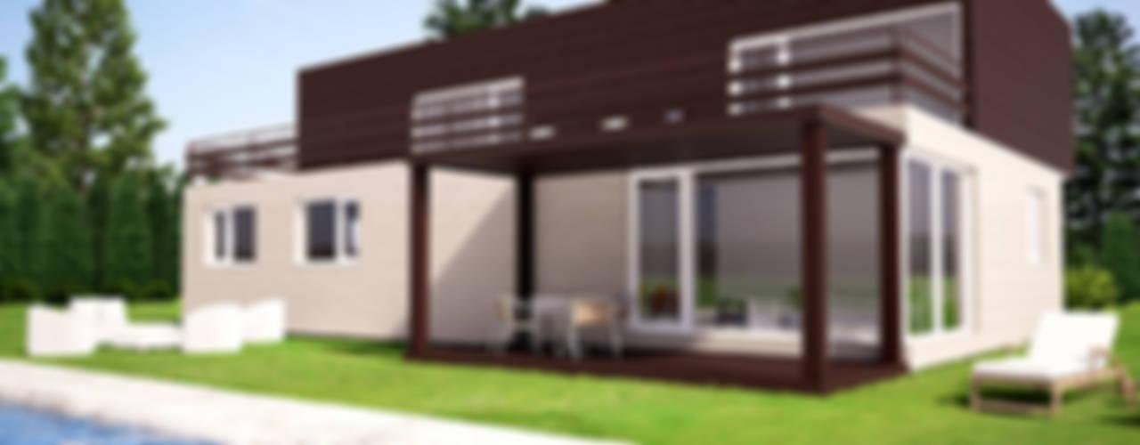 Casas modernas por Casas Cube Moderno