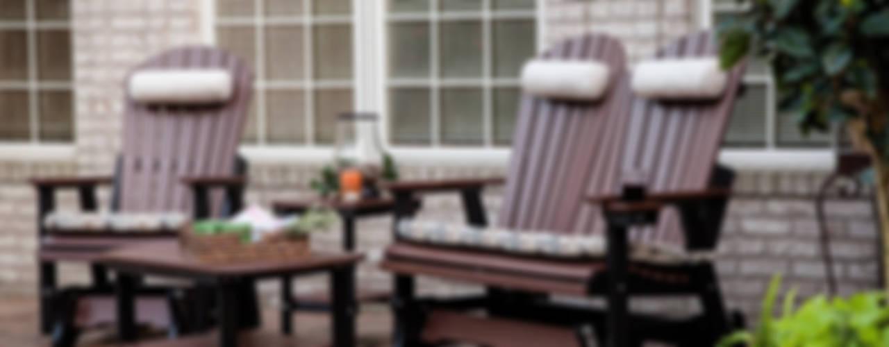 CASA BRUNO mecedoras  y gliders de poly-madera:  de estilo colonial de Casa Bruno American Home Decor, Colonial