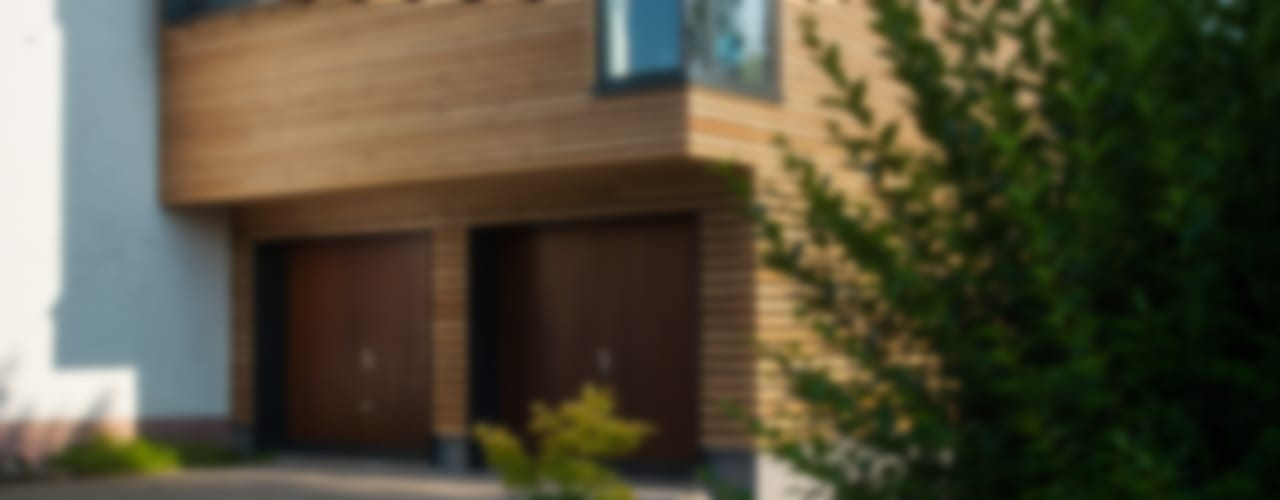 Wohnhauserweiterung Moderne Häuser von xs-architekten Modern