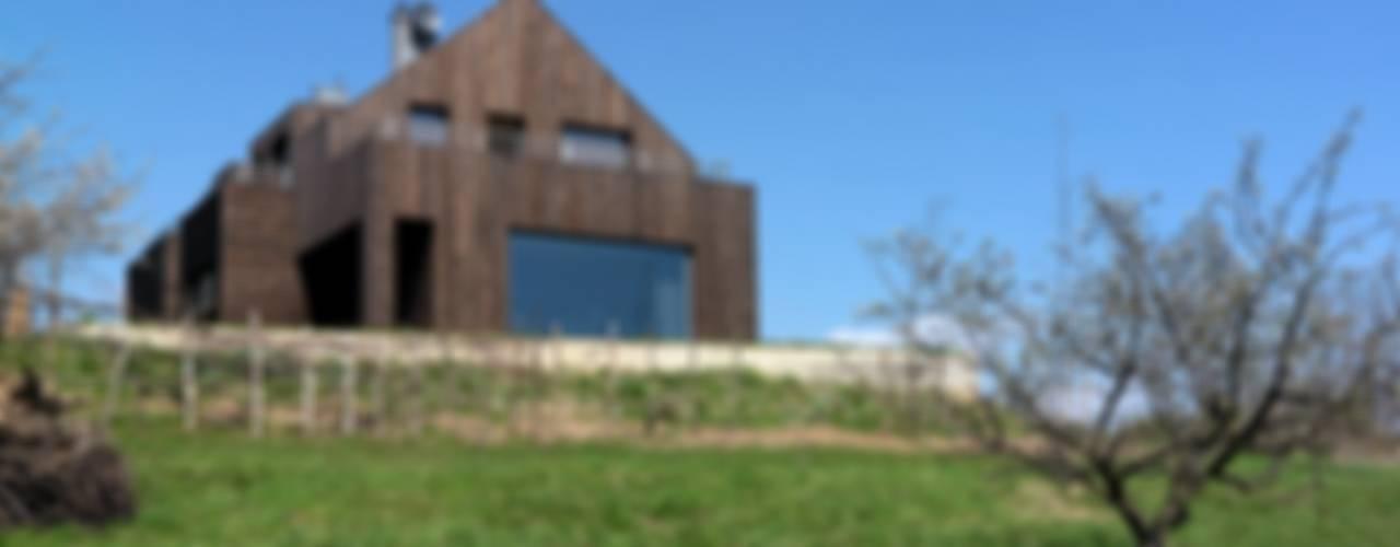 Dom w Burowie Wiejskie domy od WIZJA Wiejski