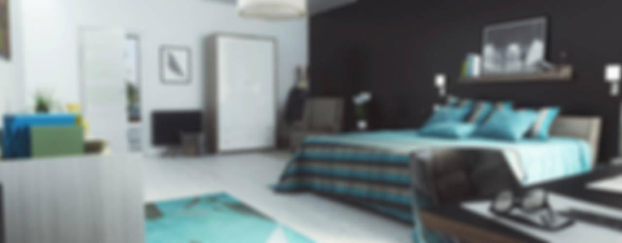 غرفة نوم تنفيذ Studio Artere