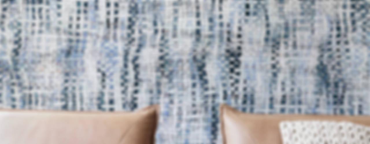 Projekty,   zaprojektowane przez Tektura Wallcoverings, Rustykalny