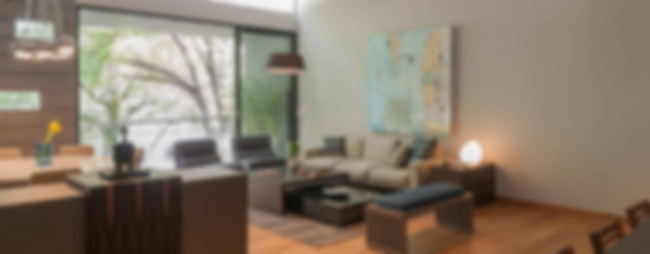 Salas de estilo moderno de Faci Leboreiro Arquitectura Moderno