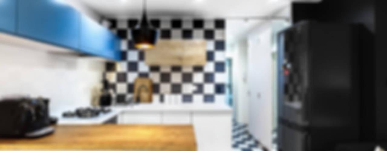 Cocinas de estilo  por COCO Pracownia projektowania wnętrz , Moderno
