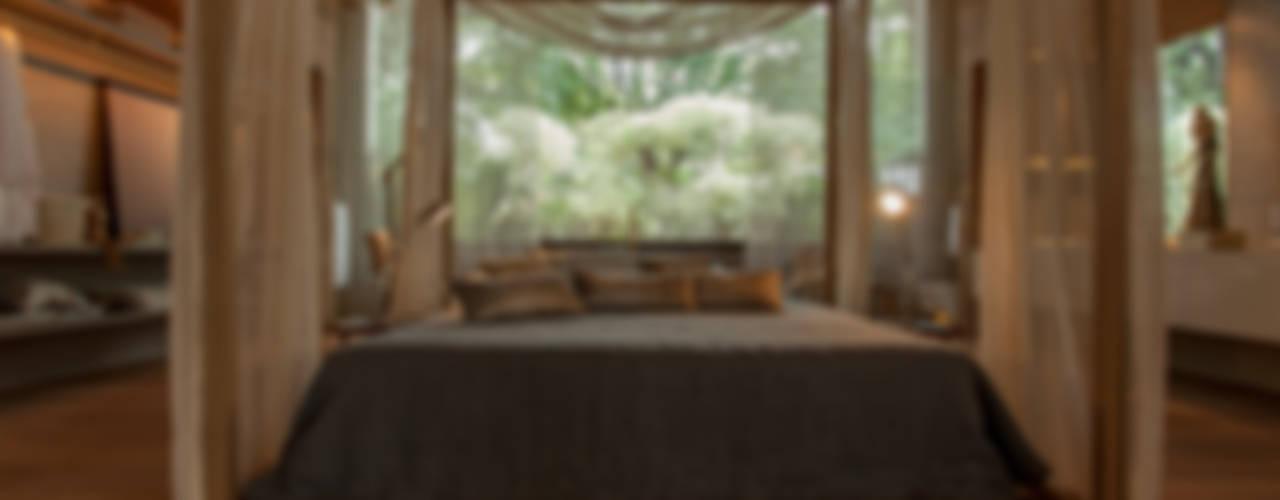غرفة نوم تنفيذ Denise Barretto Arquitetura