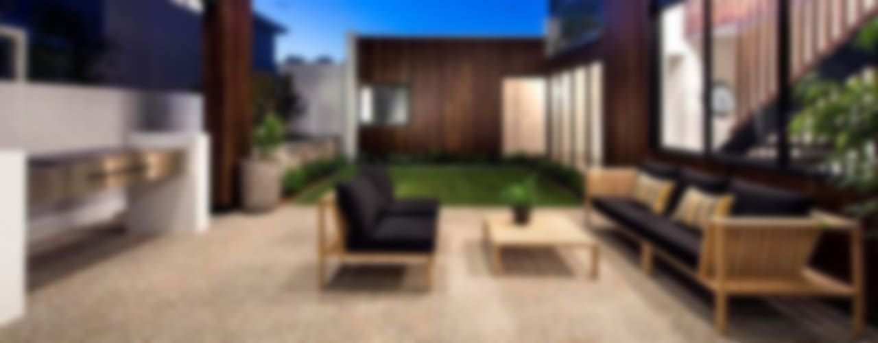 Alfresco, Outdoor Living, Patio, Deck Scandinavian style balcony, veranda & terrace by Moda Interiors Scandinavian