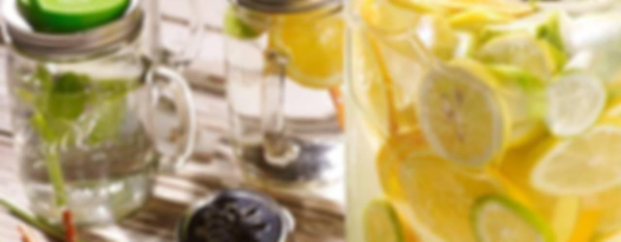 Mason Jars: de meest populaire glazen potten uit Amerika om o.a. uit te drinken en te eten! van Mason Jar Kitchen Landelijk