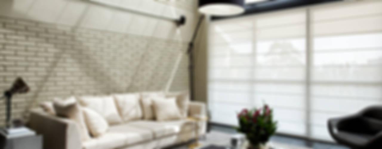 Salas de estilo  por DIEGO REVOLLO ARQUITETURA S/S LTDA., Industrial