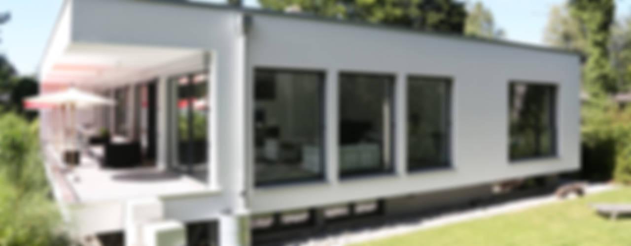 2P-raum® Architekten Rumah Minimalis
