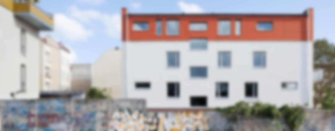 Brunnenstrasse 141 A, 10115 Berlin, Haus an der Mauergedenkstätte Moderne Häuser von Becker + Hofstätter, Projektsteuerung und Controlling GmbH & Co. KG Modern
