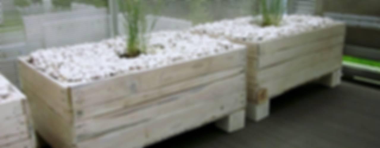 Jardines escandinavos de Palletideas Escandinavo