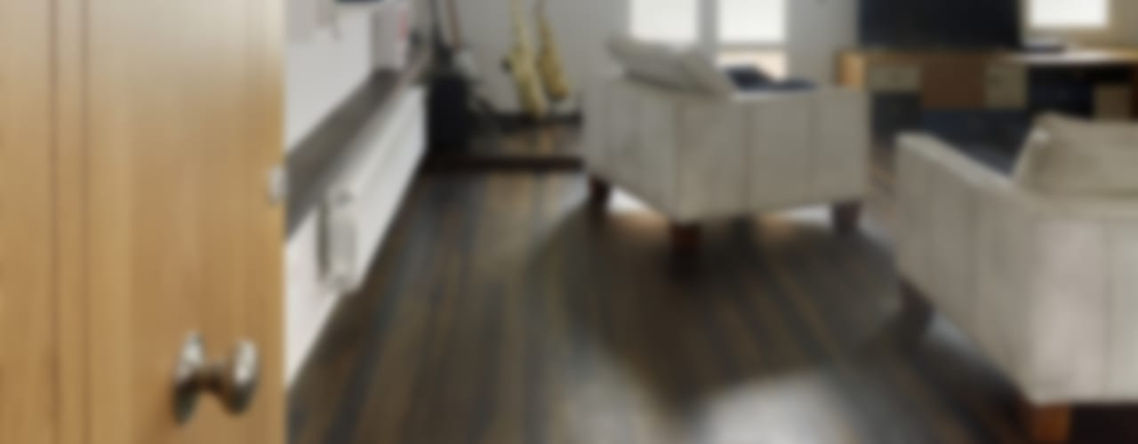 Reforma de apartamento en dos plantas, A Estrada, Pontevedra Salones de estilo minimalista de Ameneiros Rey | HH arquitectos Minimalista