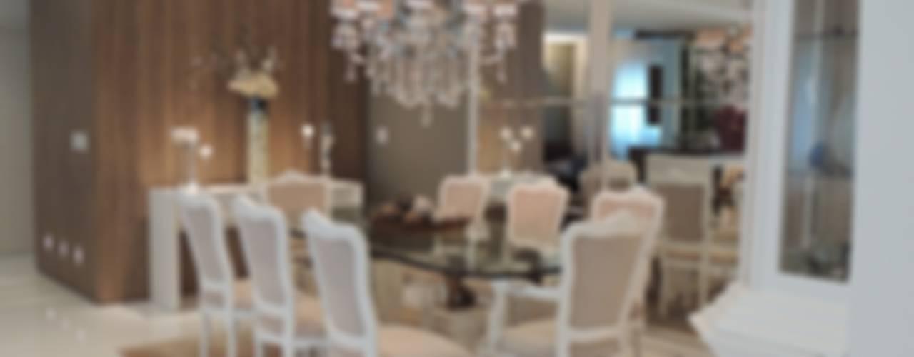 Apartamento LB Salas de jantar clássicas por Roesler e Kredens Arquitetura Clássico