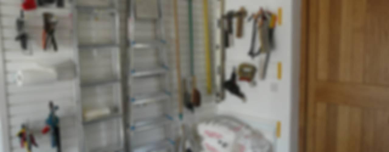 Garageflex: Designer Garage Transformations Modern garage/shed by Garageflex Modern